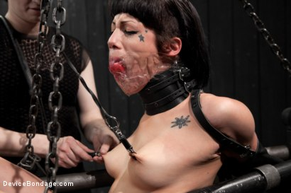 Photo number 10 from Dark and Sultry Asphyxia Noir Gets Her Pain Limits Put To The Test shot for Device Bondage on Kink.com. Featuring Asphyxia Noir in hardcore BDSM & Fetish porn.