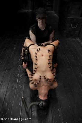 Asphyxiation fetish bondage — photo 3