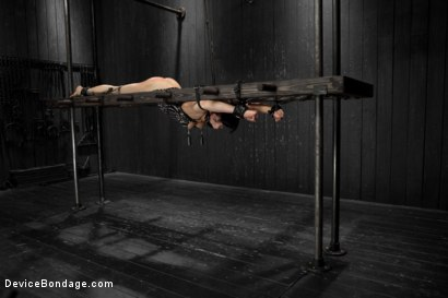 Photo number 5 from Dark and Sultry Asphyxia Noir Gets Her Pain Limits Put To The Test shot for Device Bondage on Kink.com. Featuring Asphyxia Noir in hardcore BDSM & Fetish porn.