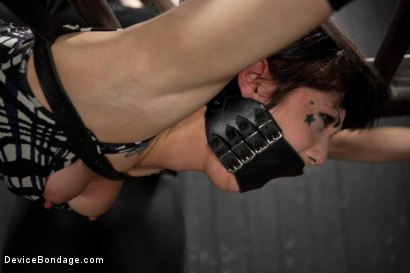 Photo number 6 from Dark and Sultry Asphyxia Noir Gets Her Pain Limits Put To The Test shot for Device Bondage on Kink.com. Featuring Asphyxia Noir in hardcore BDSM & Fetish porn.