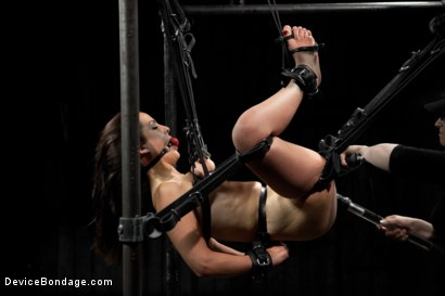 Photo number 10 from Hot Bryn Blayne In Chain Only Suspension Bondage shot for Device Bondage on Kink.com. Featuring Bryn Blayne in hardcore BDSM & Fetish porn.
