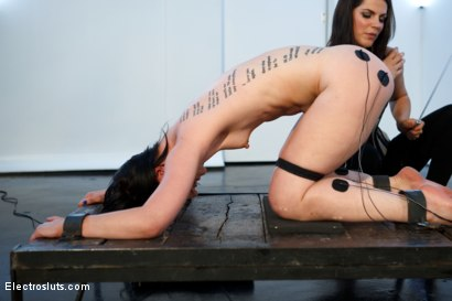 Photo number 2 from Katherine Cane, brought to you by the Letter A, as in Anal Fisting! shot for Electro Sluts on Kink.com. Featuring Bobbi Starr and Katharine Cane in hardcore BDSM & Fetish porn.