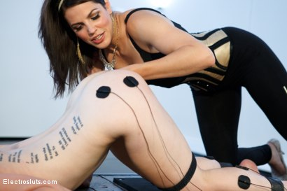 Photo number 4 from Katherine Cane, brought to you by the Letter A, as in Anal Fisting! shot for Electro Sluts on Kink.com. Featuring Bobbi Starr and Katharine Cane in hardcore BDSM & Fetish porn.