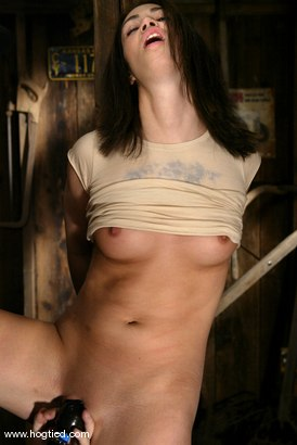 Photo number 2 from Faith Leon shot for Hogtied on Kink.com. Featuring Faith Leon in hardcore BDSM & Fetish porn.