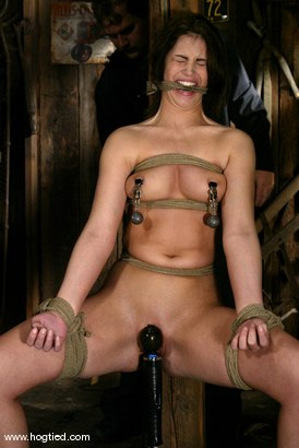 Photo number 7 from Faith Leon shot for Hogtied on Kink.com. Featuring Faith Leon in hardcore BDSM & Fetish porn.