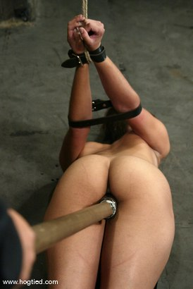 Photo number 14 from Isis Love shot for Hogtied on Kink.com. Featuring Isis Love in hardcore BDSM & Fetish porn.
