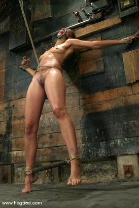 Photo number 6 from Isis Love shot for Hogtied on Kink.com. Featuring Isis Love in hardcore BDSM & Fetish porn.