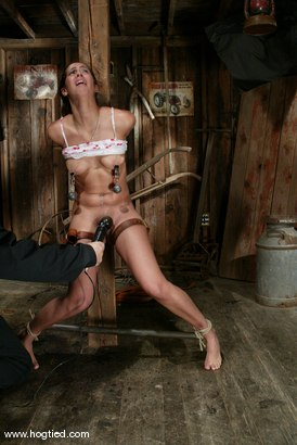 Photo number 7 from Isis Love shot for Hogtied on Kink.com. Featuring Isis Love in hardcore BDSM & Fetish porn.