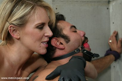 Photo number 10 from Audrey Leigh and Ricosf shot for Men In Pain on Kink.com. Featuring Audrey Leigh and Ricosf in hardcore BDSM & Fetish porn.