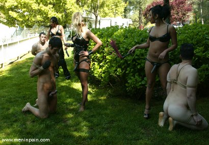 Photo number 9 from mini, Mitch West, Mika Tan, Danny Wylde, Dax Star, Jasmine Byrne and Xana Star shot for Men In Pain on Kink.com. Featuring Mitch West, Danny Wylde, Jasmine Byrne, Xana Star, mini, Mika Tan and Dax Star in hardcore BDSM & Fetish porn.
