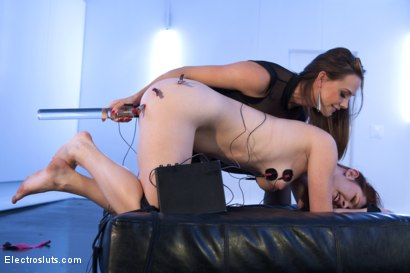 Photo number 8 from Ballerina Gets Electro Fucked! shot for Electro Sluts on Kink.com. Featuring Melody Jordan and Chanel Preston in hardcore BDSM & Fetish porn.