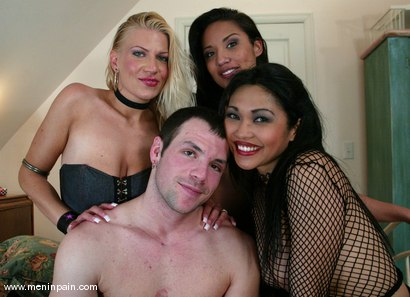 Photo number 15 from Xana Star, Mitch West, Mika Tan and Jasmine Byrne shot for Men In Pain on Kink.com. Featuring Jasmine Byrne, Xana Star, Mitch West and Mika Tan in hardcore BDSM & Fetish porn.