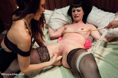 Photo number 2 from Cuckold Done The Lesbian Way! shot for Whipped Ass on Kink.com. Featuring Felony, Katharine Cane and Gia DiMarco in hardcore BDSM & Fetish porn.