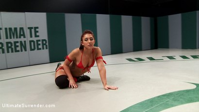 Photo number 2 from SEASON 10 BEGINS!! Brand New Sexy Wrestler Mischa Brooks shot for Ultimate Surrender on Kink.com. Featuring Mischa Brooks and Lyla Storm in hardcore BDSM & Fetish porn.