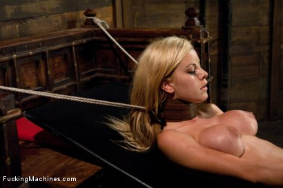 Photo number 7 from Holy shit - SHE IS HOT - 18years, loves anal, loves machines MARRY US. shot for Fucking Machines on Kink.com. Featuring Jessie Rogers in hardcore BDSM & Fetish porn.