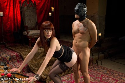 Photo number 2 from The Prostate Milking Queen shot for Divine Bitches on Kink.com. Featuring Maitresse Madeline Marlowe  and Steve Sterling in hardcore BDSM & Fetish porn.