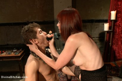 Photo number 8 from The Prostate Milking Queen shot for Divine Bitches on Kink.com. Featuring Maitresse Madeline Marlowe  and Steve Sterling in hardcore BDSM & Fetish porn.