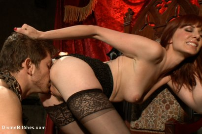 Photo number 5 from The Prostate Milking Queen shot for Divine Bitches on Kink.com. Featuring Maitresse Madeline Marlowe  and Steve Sterling in hardcore BDSM & Fetish porn.