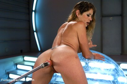 Photo number 4 from Her Pussy Introduces Her: Felony Back for More shot for Fucking Machines on Kink.com. Featuring Felony in hardcore BDSM & Fetish porn.