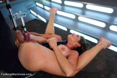 Photo number 9 from Her Pussy Introduces Her: Felony Back for More shot for Fucking Machines on Kink.com. Featuring Felony in hardcore BDSM & Fetish porn.