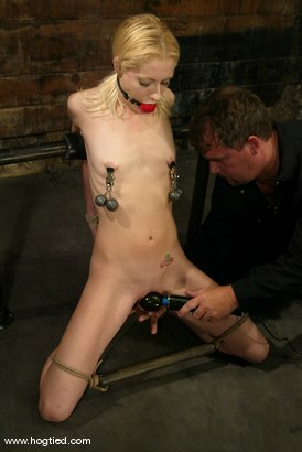 Photo number 8 from Morgan March shot for Hogtied on Kink.com. Featuring Morgan March in hardcore BDSM & Fetish porn.