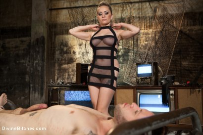 Photo number 11 from A Sadistic Goddess shot for Divine Bitches on Kink.com. Featuring Wolf Hudson and Aiden Starr in hardcore BDSM & Fetish porn.