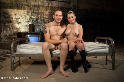 Photo number 9 from A Sadistic Goddess shot for Divine Bitches on Kink.com. Featuring Wolf Hudson and Aiden Starr in hardcore BDSM & Fetish porn.