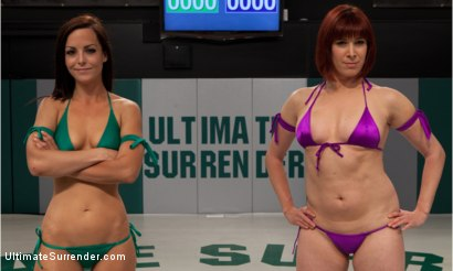 "Photo number 1 from Bryn ""The Law"" Blayne vs Newbie Odile "" aka ""Dynamo"" shot for Ultimate Surrender on Kink.com. Featuring Bryn Blayne and Odile in hardcore BDSM & Fetish porn."