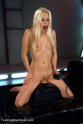Photo number 10 from Hot French Girl Fucked Hard By Machines in Her Pussy and Ass shot for Fucking Machines on Kink.com. Featuring Jessie Volt in hardcore BDSM & Fetish porn.