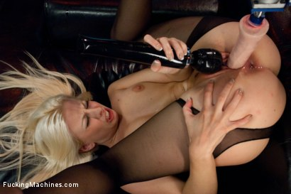 Photo number 7 from Hot French Girl Fucked Hard By Machines in Her Pussy and Ass shot for Fucking Machines on Kink.com. Featuring Jessie Volt in hardcore BDSM & Fetish porn.