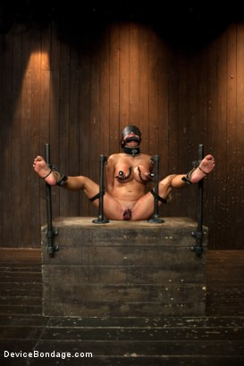 Photo number 10 from Mia Lelani - Big Titted Cunt Tormented - Complete Edited Live Show shot for Device Bondage on Kink.com. Featuring Mia Lelani, Mz Berlin and Bella Rossi in hardcore BDSM & Fetish porn.