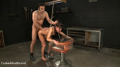 Photo number 13 from Anal Espionage shot for Fucked and Bound on Kink.com. Featuring Cecilia Vega and Sascha in hardcore BDSM & Fetish porn.