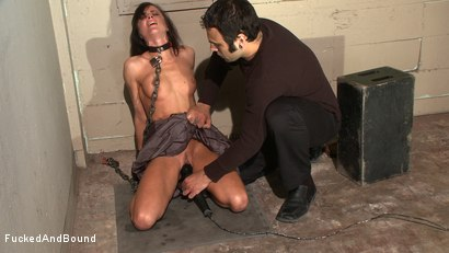 Photo number 3 from Anal Espionage shot for Fucked and Bound on Kink.com. Featuring Cecilia Vega and Sascha in hardcore BDSM & Fetish porn.