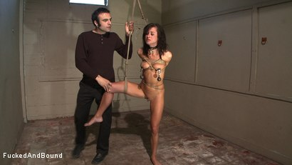 Photo number 4 from Anal Espionage shot for Fucked and Bound on Kink.com. Featuring Cecilia Vega and Sascha in hardcore BDSM & Fetish porn.