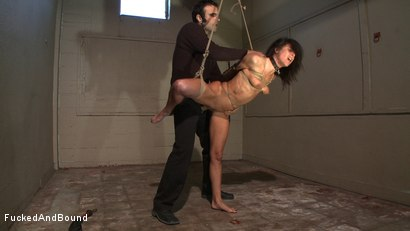 Photo number 5 from Anal Espionage shot for Fucked and Bound on Kink.com. Featuring Cecilia Vega and Sascha in hardcore BDSM & Fetish porn.
