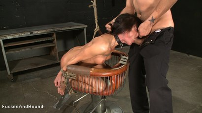 Photo number 7 from Anal Espionage shot for Fucked and Bound on Kink.com. Featuring Cecilia Vega and Sascha in hardcore BDSM & Fetish porn.