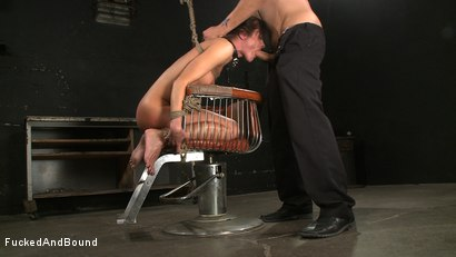 Photo number 8 from Anal Espionage shot for Fucked and Bound on Kink.com. Featuring Cecilia Vega and Sascha in hardcore BDSM & Fetish porn.