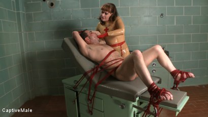 Photo number 1 from The Examination shot for Captive Male on Kink.com. Featuring Rico and Julie Simone in hardcore BDSM & Fetish porn.