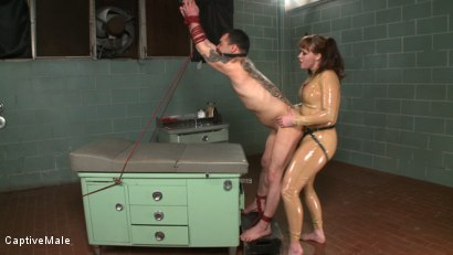 Photo number 13 from The Examination shot for Captive Male on Kink.com. Featuring Rico and Julie Simone in hardcore BDSM & Fetish porn.