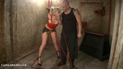 Photo number 1 from Little Miss Tough Girl shot for  on Kink.com. Featuring Derrick Pierce and Satine Phoenix in hardcore BDSM & Fetish porn.