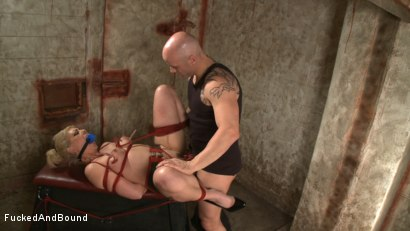 Photo number 11 from Little Miss Tough Girl shot for  on Kink.com. Featuring Derrick Pierce and Satine Phoenix in hardcore BDSM & Fetish porn.