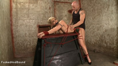 Photo number 14 from Little Miss Tough Girl shot for  on Kink.com. Featuring Derrick Pierce and Satine Phoenix in hardcore BDSM & Fetish porn.