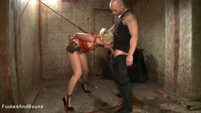 Photo number 4 from Little Miss Tough Girl shot for  on Kink.com. Featuring Derrick Pierce and Satine Phoenix in hardcore BDSM & Fetish porn.