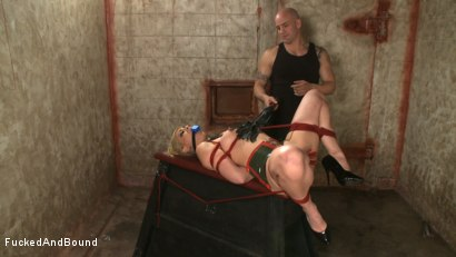 Photo number 5 from Little Miss Tough Girl shot for  on Kink.com. Featuring Derrick Pierce and Satine Phoenix in hardcore BDSM & Fetish porn.