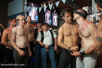 Photo number 12 from Cody Allen Bound in Public shot for Bound in Public on Kink.com. Featuring Cody Allen, Sebastian Keys and Master Avery in hardcore BDSM & Fetish porn.