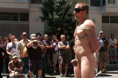 Photo number 7 from Cody Allen Bound in Public shot for Bound in Public on Kink.com. Featuring Cody Allen, Sebastian Keys and Master Avery in hardcore BDSM & Fetish porn.