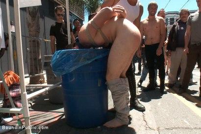 Photo number 4 from Cody Allen Bound in Public shot for Bound in Public on Kink.com. Featuring Cody Allen, Sebastian Keys and Master Avery in hardcore BDSM & Fetish porn.