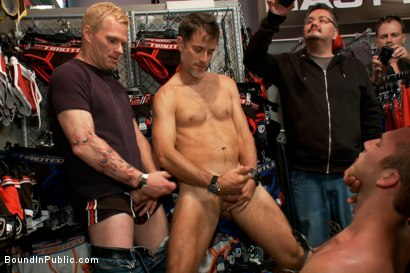 Photo number 9 from Cody Allen - Naked, Tied up, Zippered, Humiliated in Public shot for Bound in Public on Kink.com. Featuring Cody Allen, Sebastian Keys and Master Avery in hardcore BDSM & Fetish porn.
