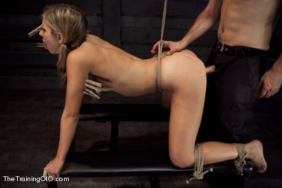 Photo number 8 from Training Chastity Lynn Day 5 shot for The Training Of O on Kink.com. Featuring Chastity Lynn and Maestro in hardcore BDSM & Fetish porn.