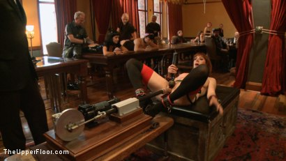 Photo number 6 from Stefanos' Brunch shot for The Upper Floor on Kink.com. Featuring Krysta Kaos and Odile in hardcore BDSM & Fetish porn.